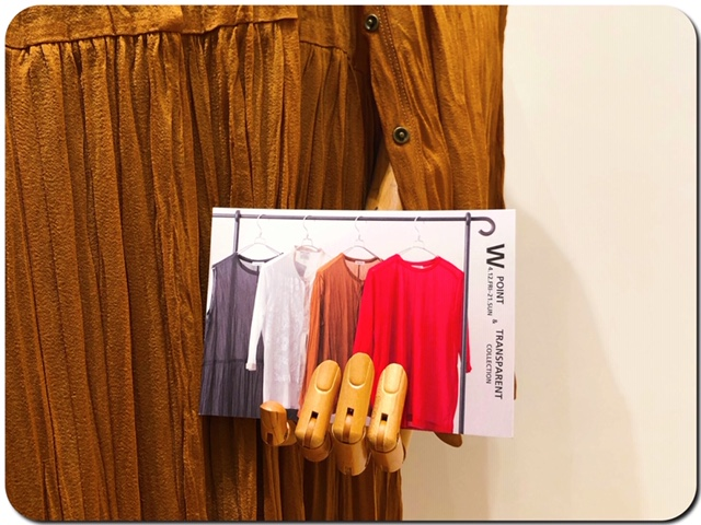 『W point』&TRANSPARENT COLLECTION.