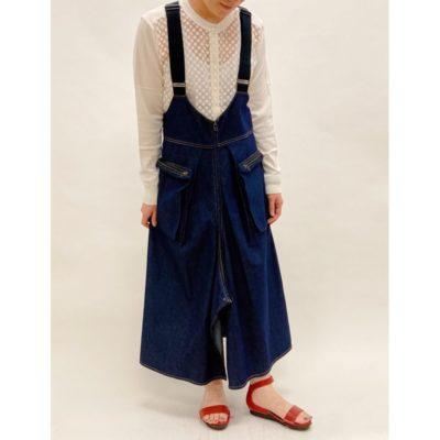 new arrival-3way  skirts uspenders denim-